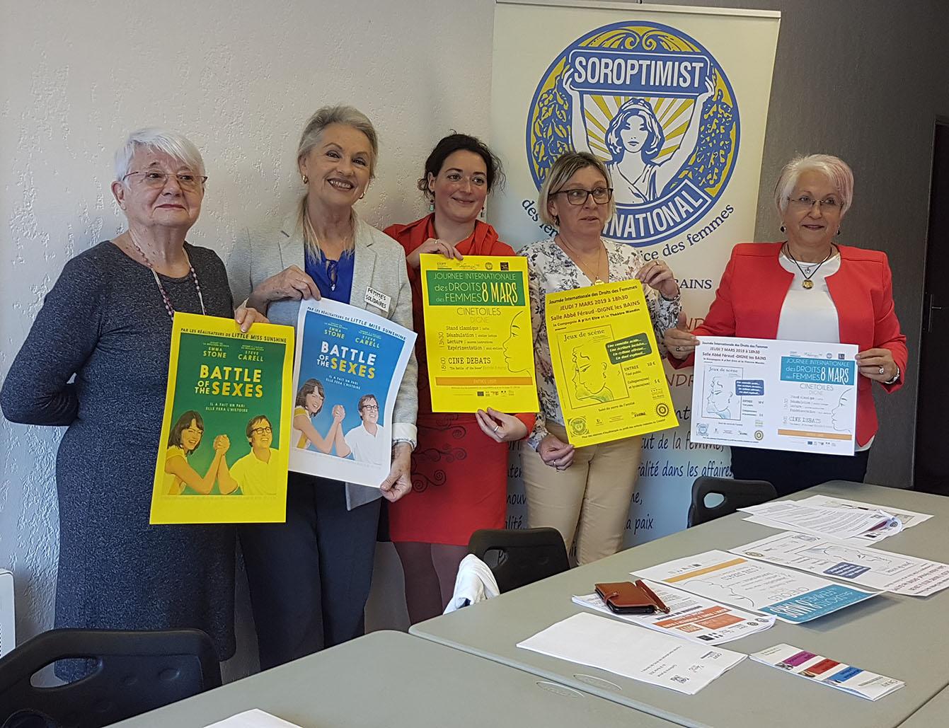Les associations s'unissent pour le Droit des Femmes