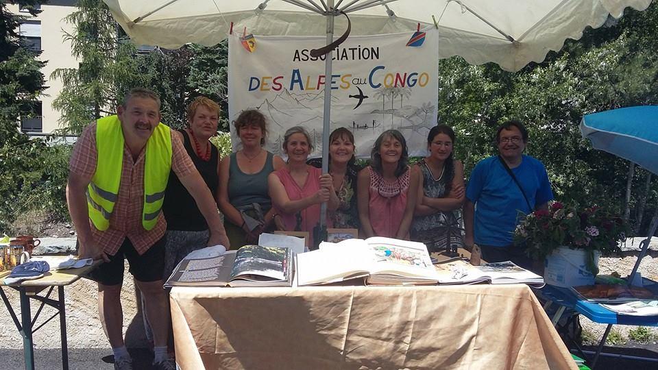 """L'association """"Des Alpes au Congo"""" sera ce week-end à Cervières !"""