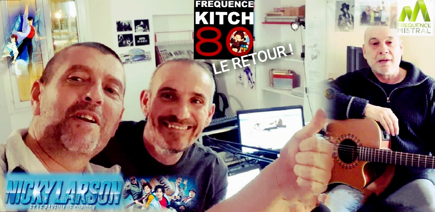 Frequence Kitch : Le retour avec Nicky Larson !
