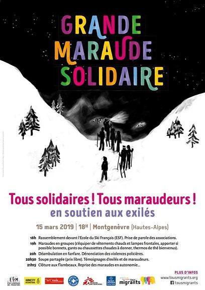 Le 15 mars : la grande maraude de Montgenèvre