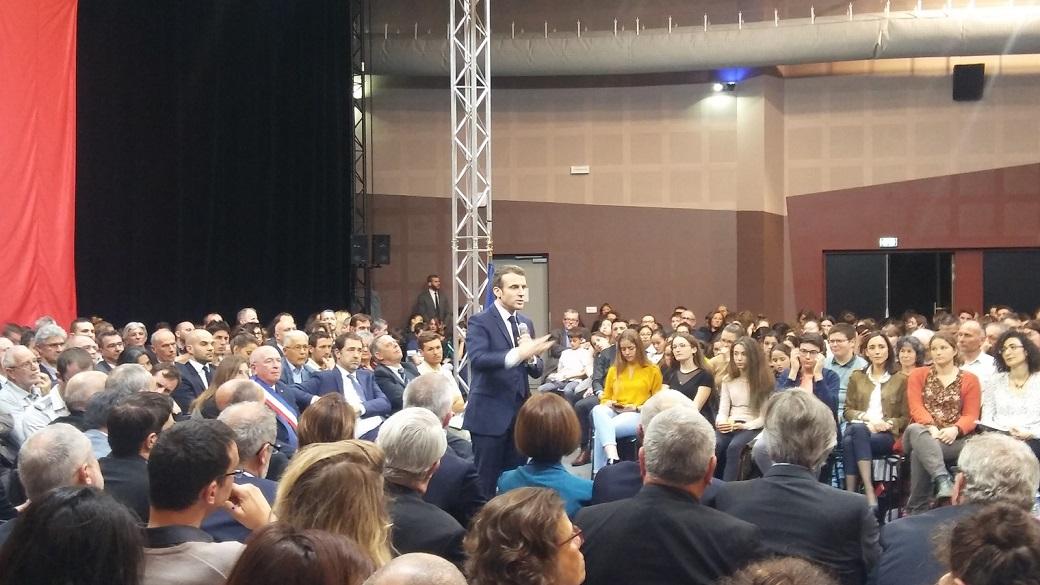Grand débat présidentiel à Gréoux !