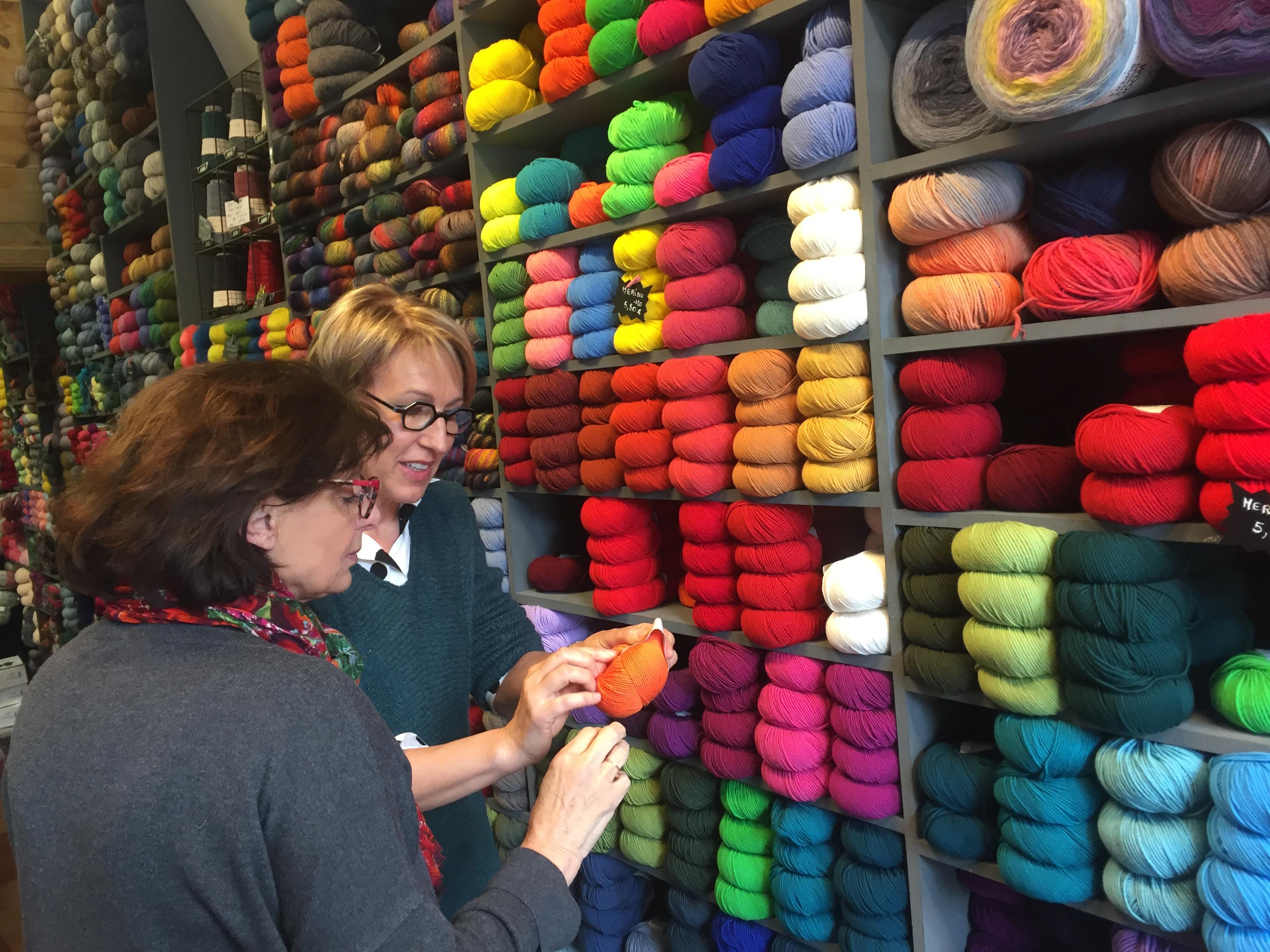 Le tricot, c'est tendance !