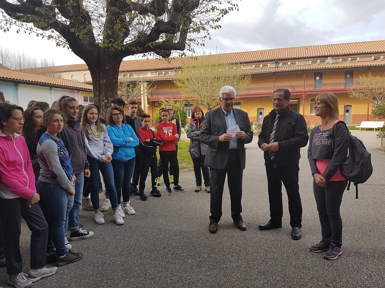 Des élèves italiens en séjour dans le 04