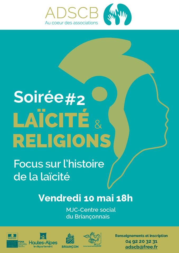 Des soirées laïcité et religions organisées à la Mjc de Briançon  !