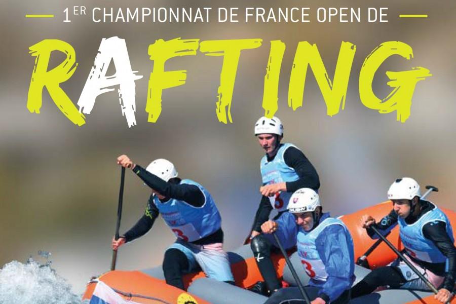 Le premier championnat de France de rafting se tiendra à L'argentière !