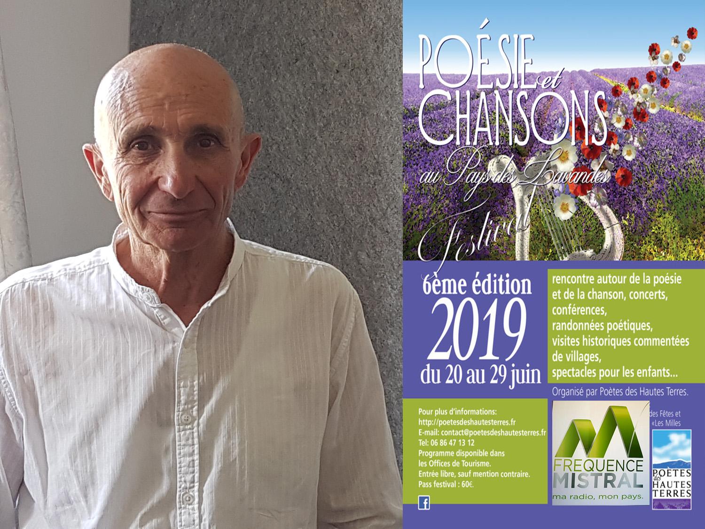 Du 20 au 29 juin Festival Poésie et chansons du Pays des Lavandes