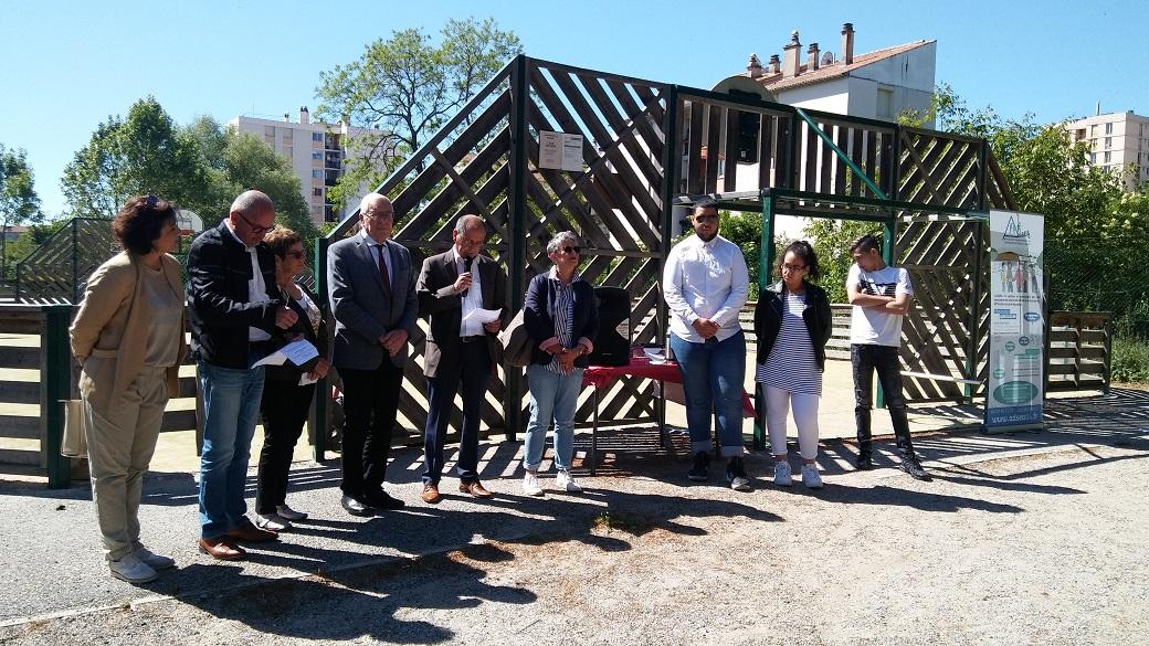 Le graff du pont de la rue d'en-dessous a été inauguré