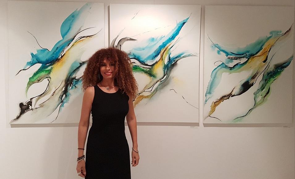 Rosario d'Espinay Saint-Luc ouvre les portes de son atelier à Oraison