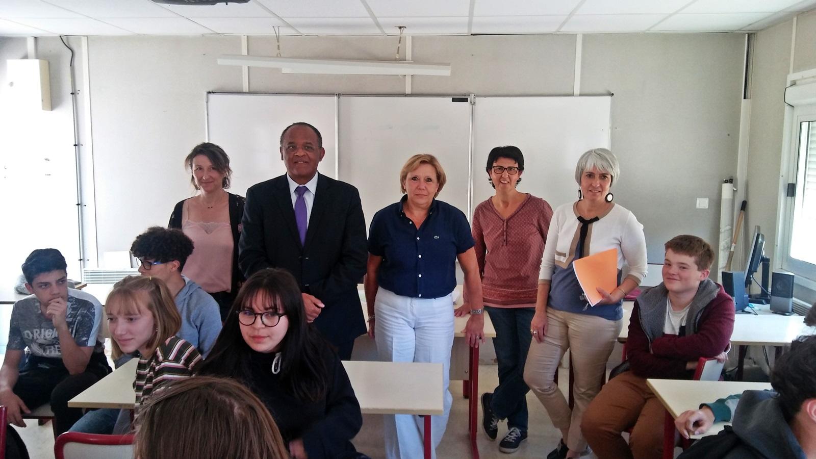 Le nouveau lycée présenté aux lycéens de Félix Esclangon