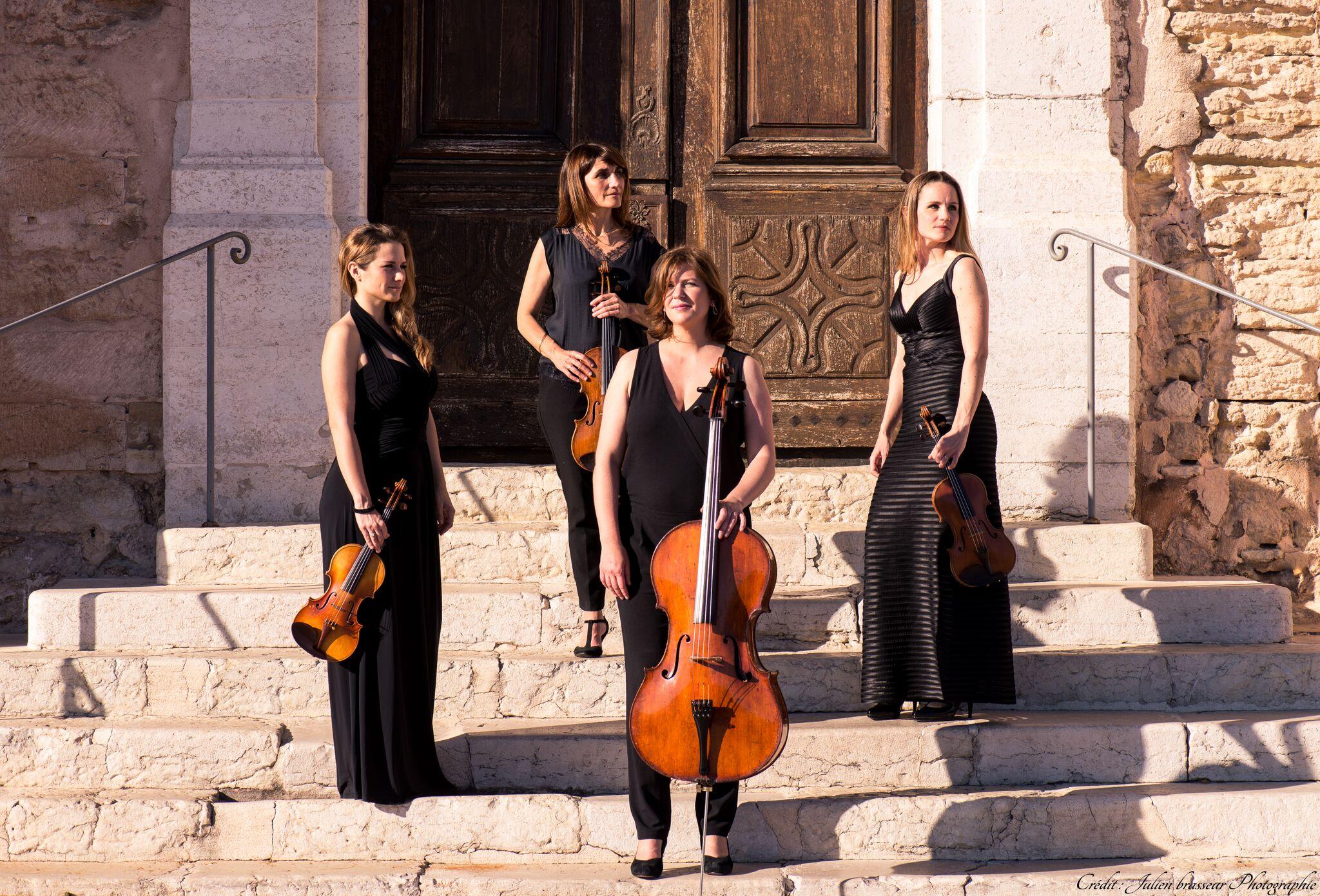 Musique de chambre et quatuor à cordes sur mesure à Chaillol…