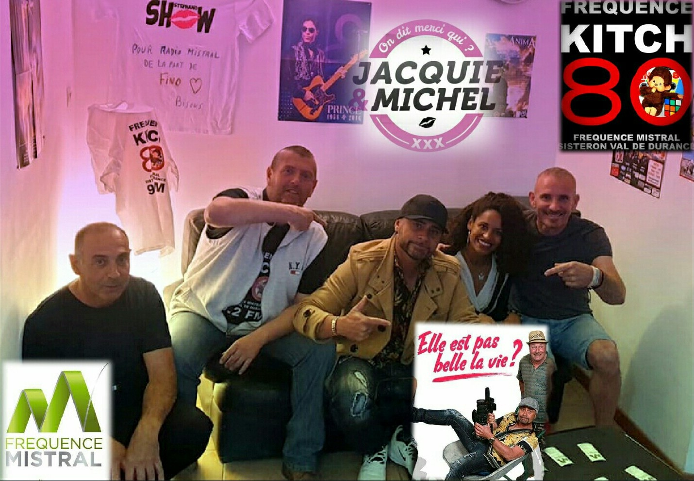Fréquence Kitch avec Fino de Jacquie et Michel en live : l'émission !