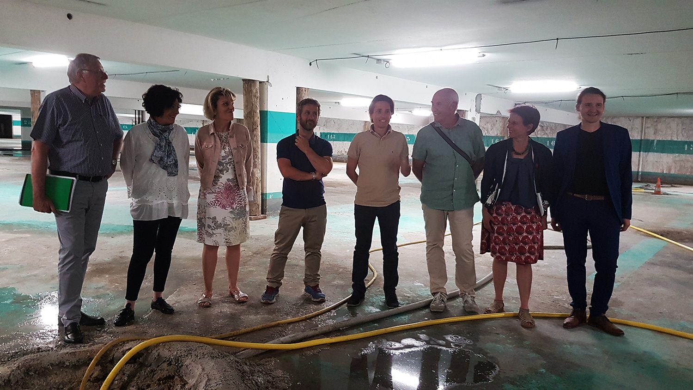 Le parking souterrain de Digne bientôt réhabilité