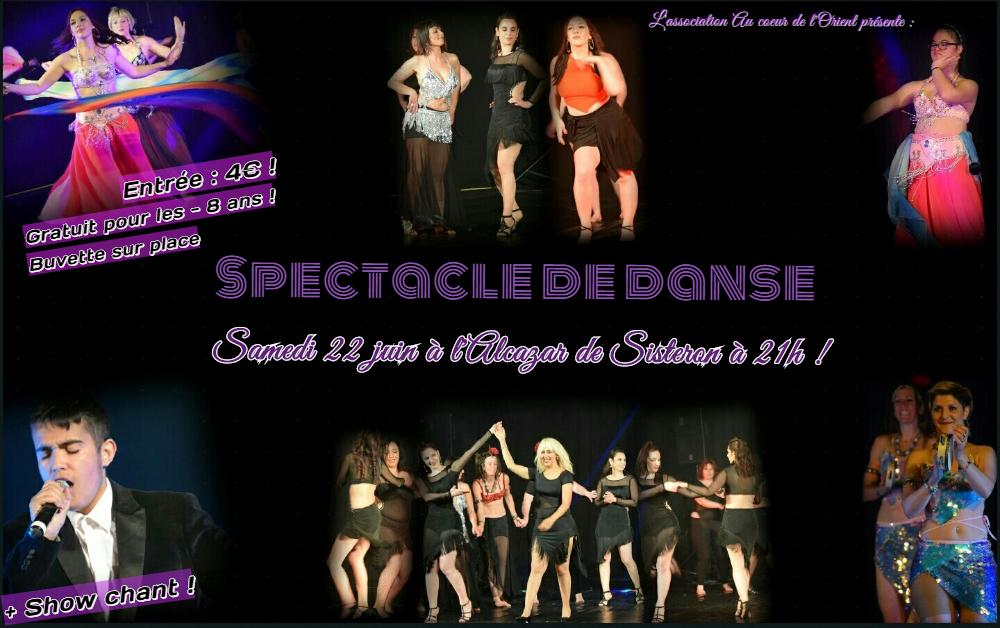 Gala de danse exceptionnel à Sisteron le samedi 22 juin