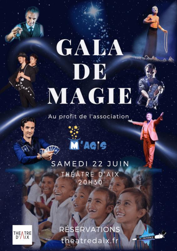 Un gala de magie pour la bonne cause ce samedi 22 juin au Théâtre d'Aix !