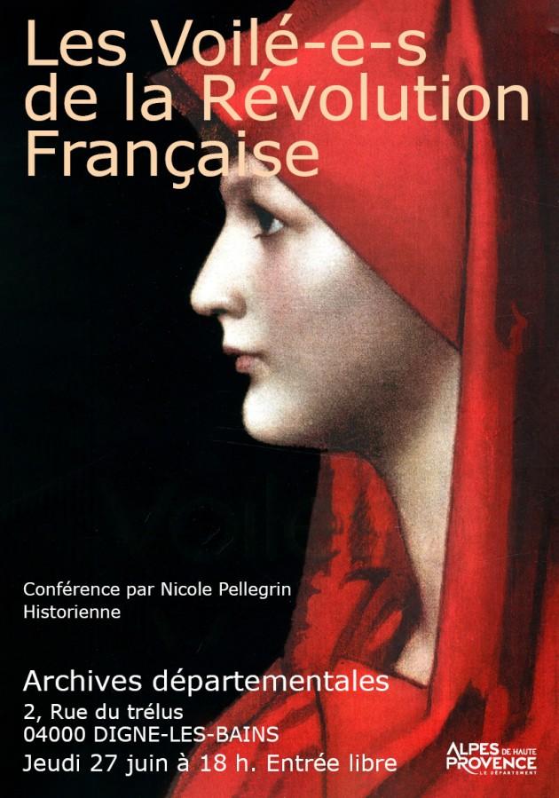 Les françaises voilées depuis la révolution