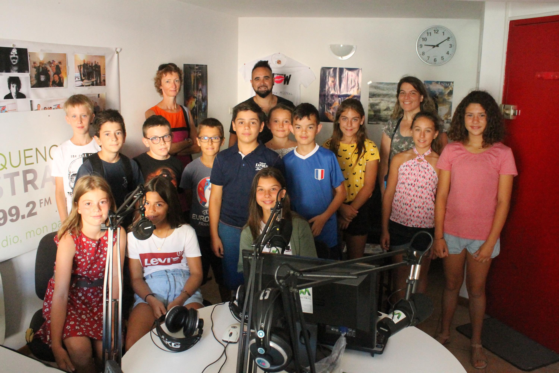 Emission speciale : La Durance vue par les élèves de cm2 d'Aubignosc !