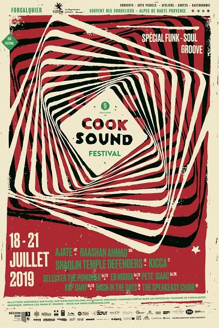Le cooksound Festival 2019 est annoncé…