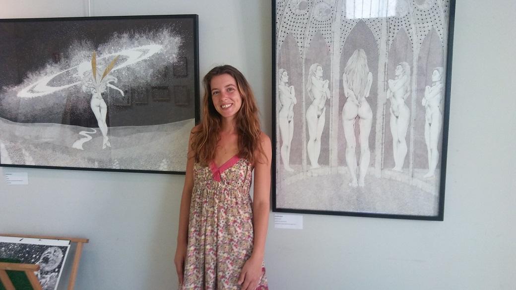 Mathilde Reboul expose à la fondation Carzou