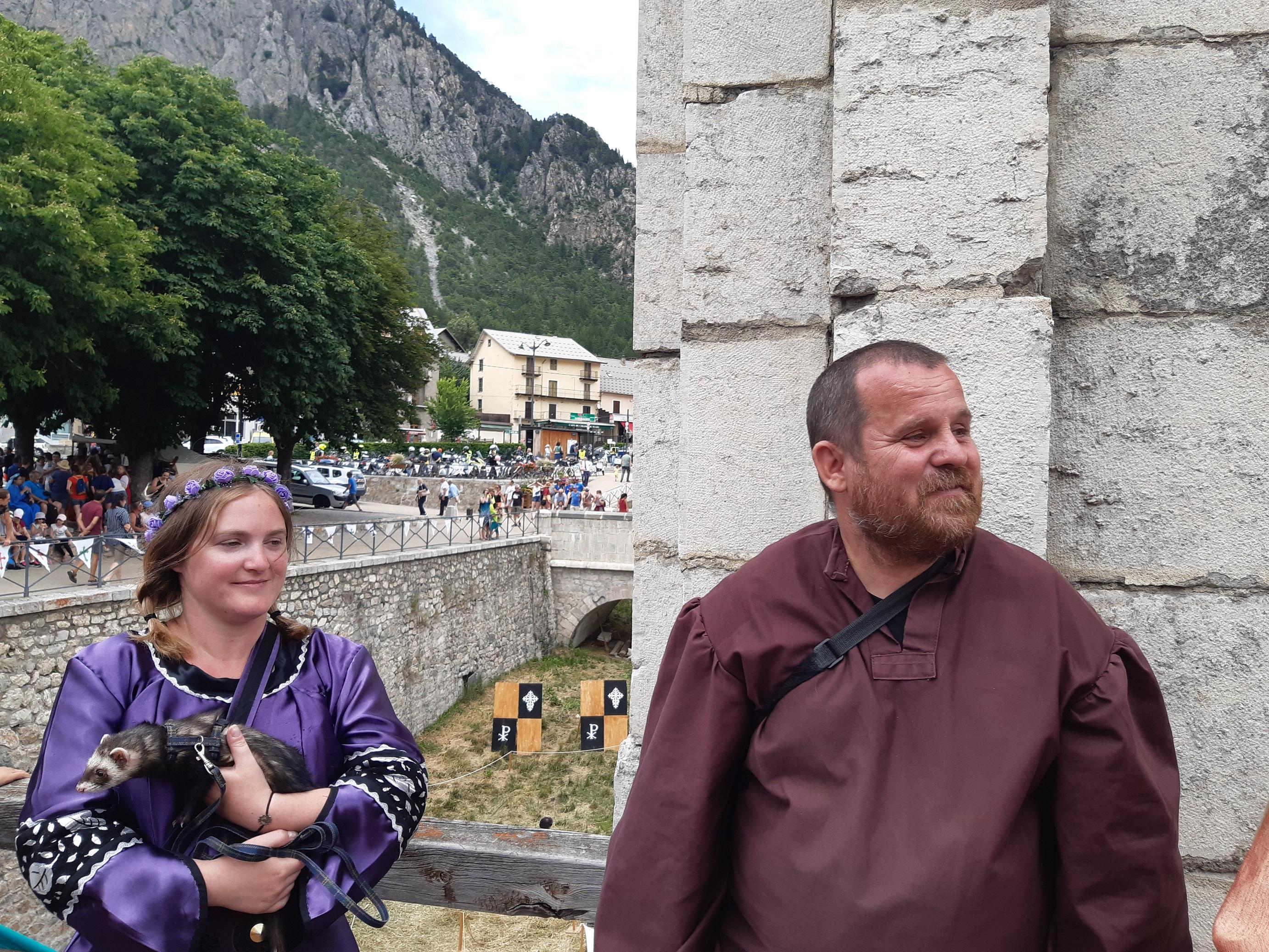 La 14ème édition de la fête Médiévale de Briançon avait lieu ce week-end à Briançon !