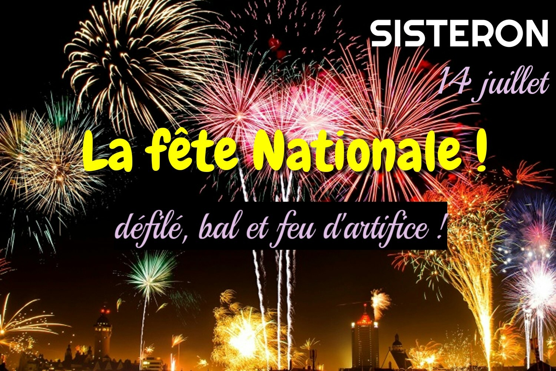 Le 14 juillet sera exceptionnel à Sisteron !