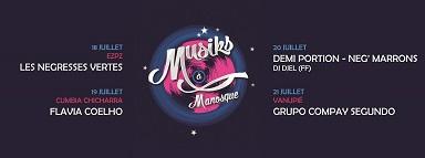 Muziks à Manosque 18 juillet