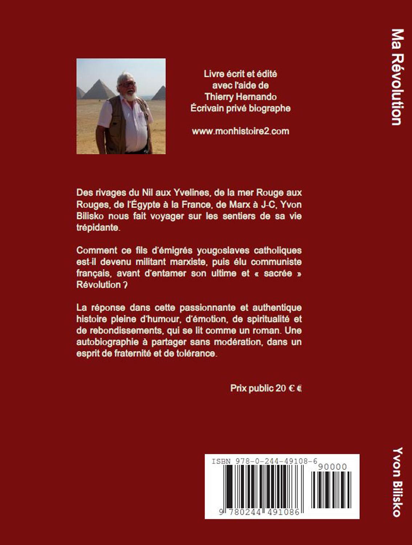 Le pasteur Yvon Bilisko présente son livre : Ma Révolution