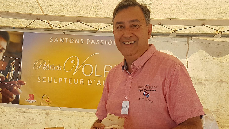 Patrick Volpes, Maître artisan santonnier à la foire de la Lavande