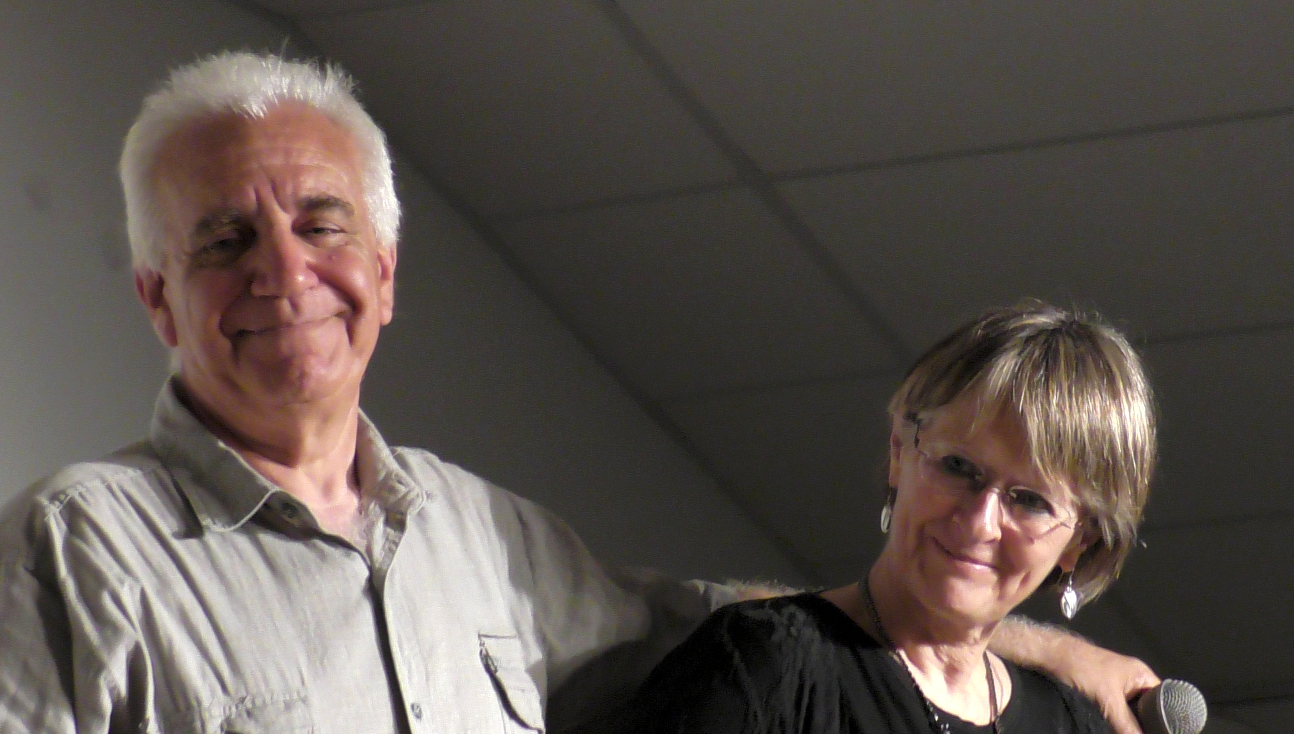 Jean-Marc Dermesropian et Edith Thénot