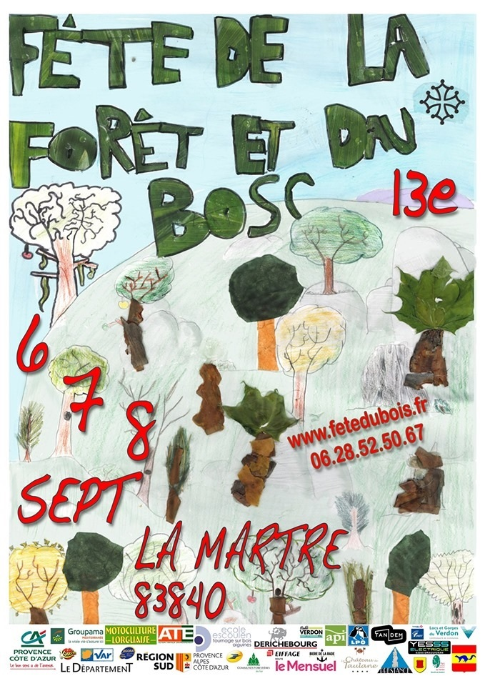 Le bois et la Forêt sont à l'honneur ce week-end à la Martre