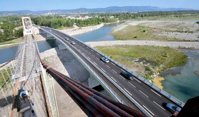 Le nouveau pont de Manosque a été inauguré!
