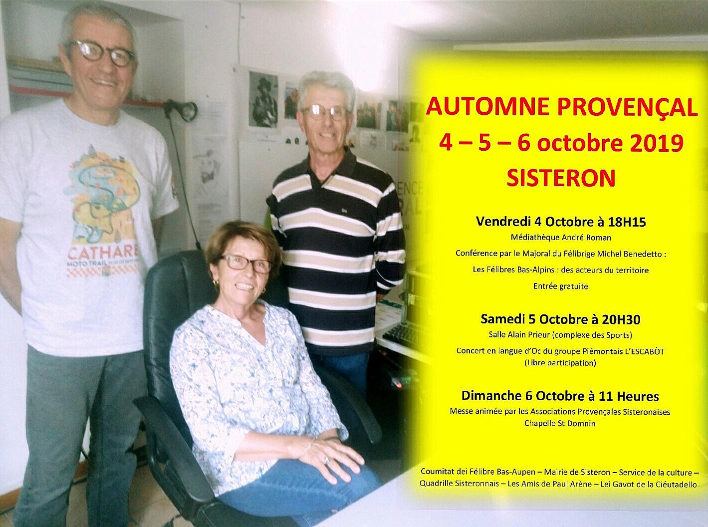 Sisteron retourne à ses sources provençales
