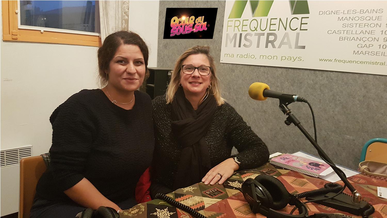 Natercia Maximo et Lorraine Vidalenc