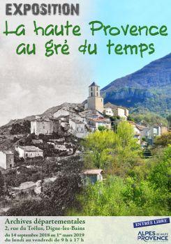 """Histoires d'Archives 2ème émission sur la parution et publication du livre """"La haute Provence au gré du temps"""" et """"l'eau"""""""