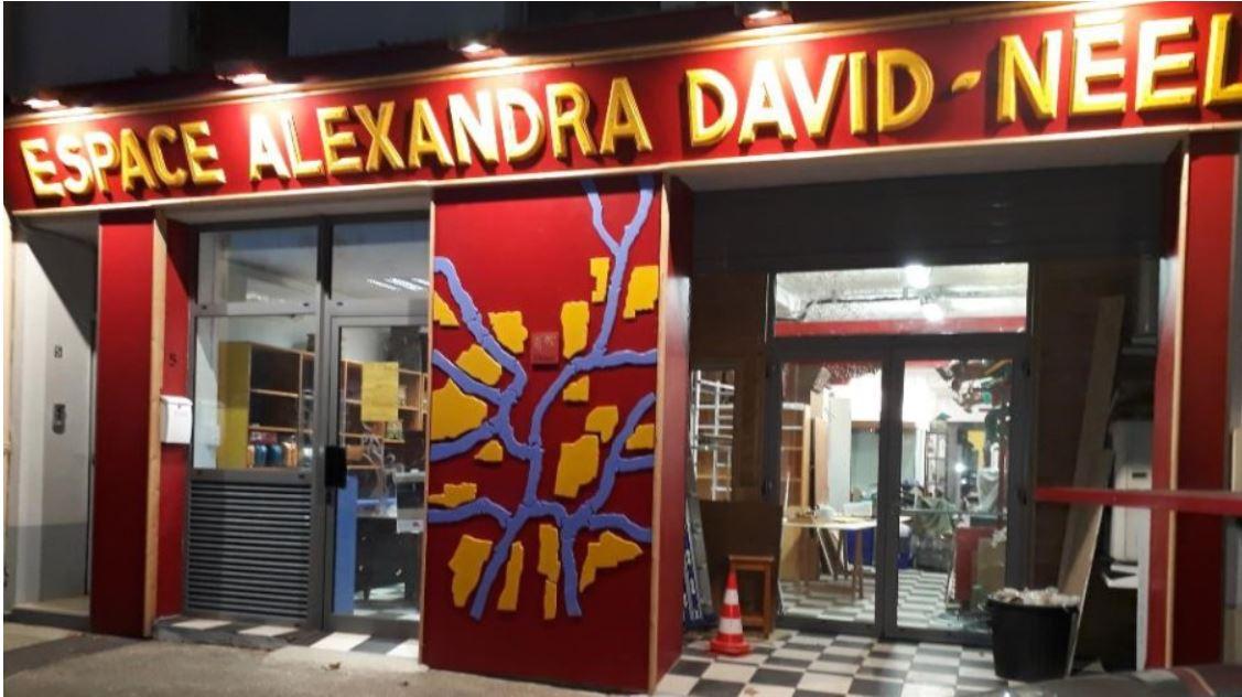 Alexandra David-Neel a son espace