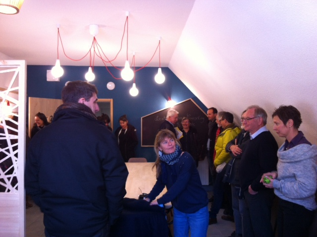 Altipolis a inauguré un espace d'accueil et de co-working