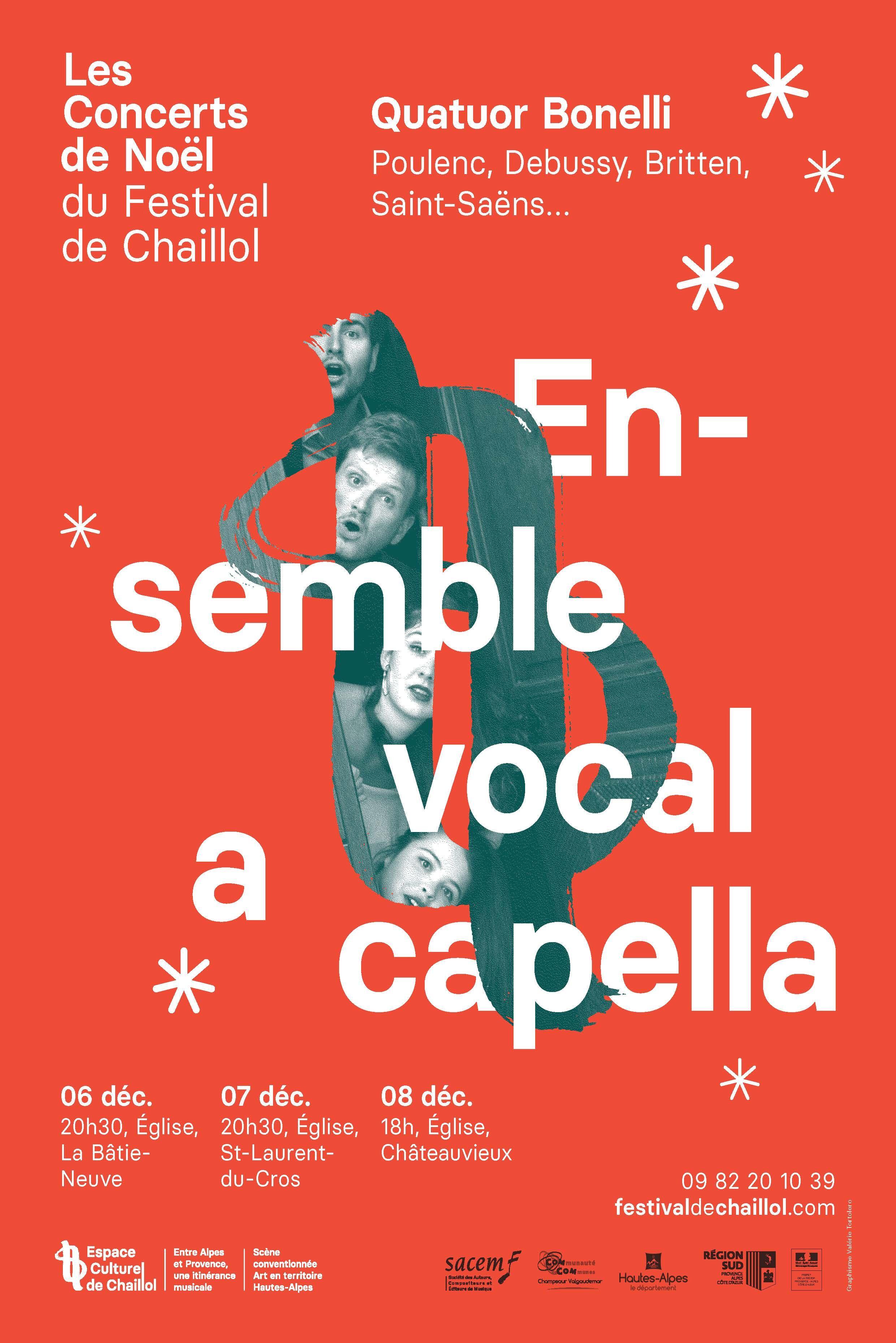 Un ensemble vocal en prélude aux fêtes dans les Hautes-Alpes