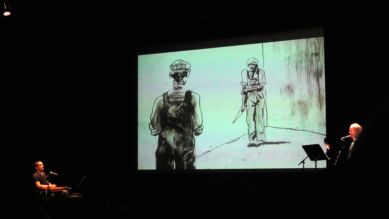 Le spectacle-concert dessiné Black Boy plébiscité à Digne