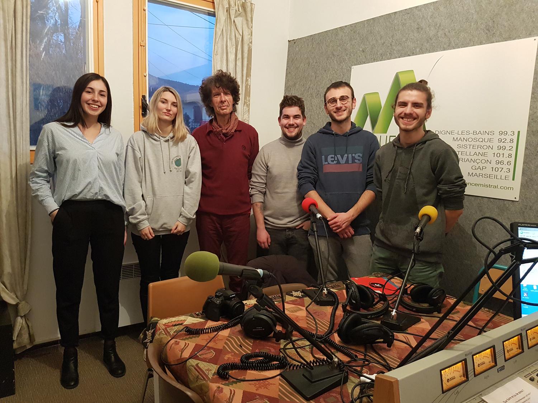 """5 étudiants de l'IUT présentent la semaine du son """"Traversons le Temps"""""""