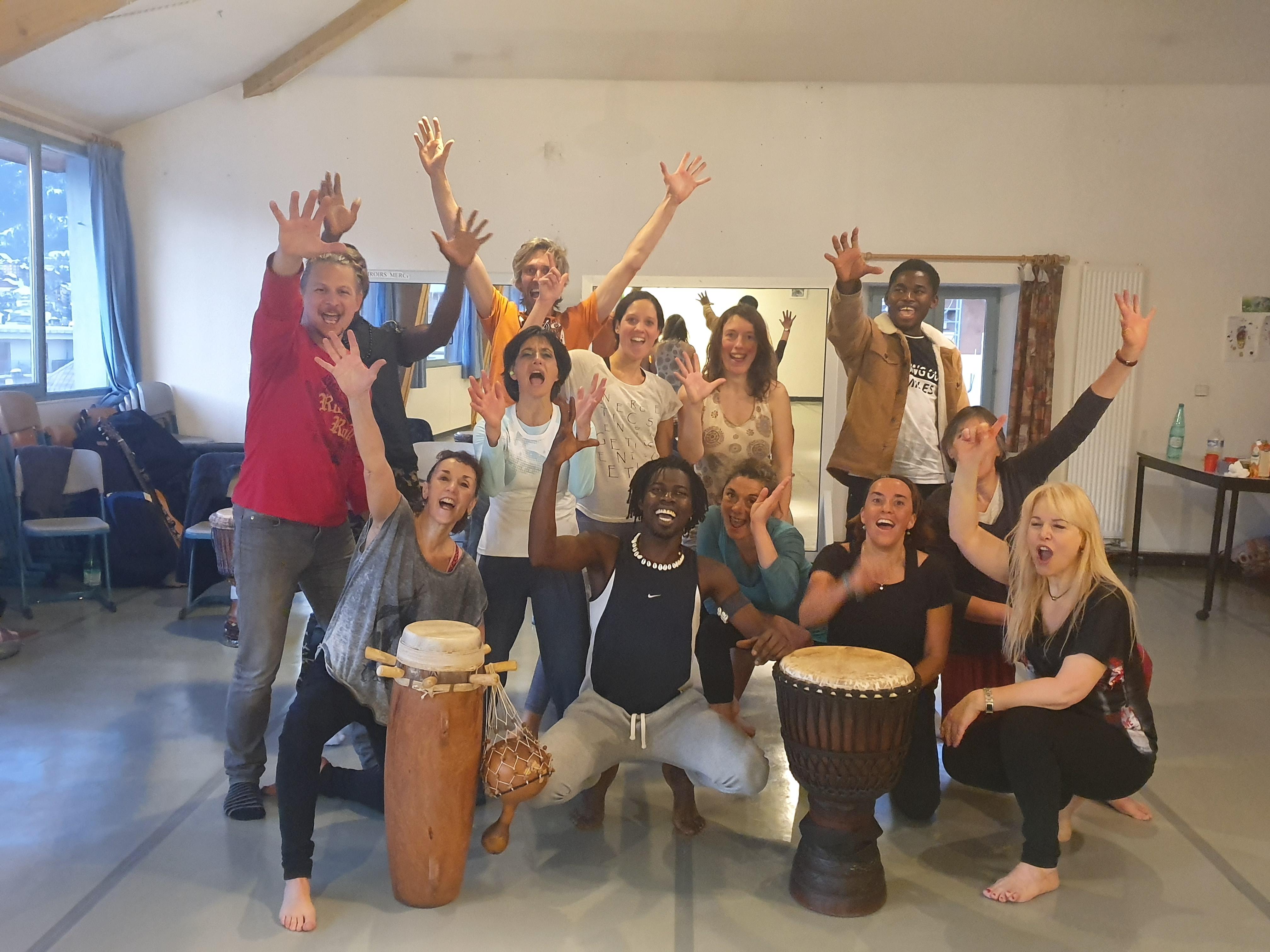 La danse africaine c'est bon pour le corps et l'esprit !