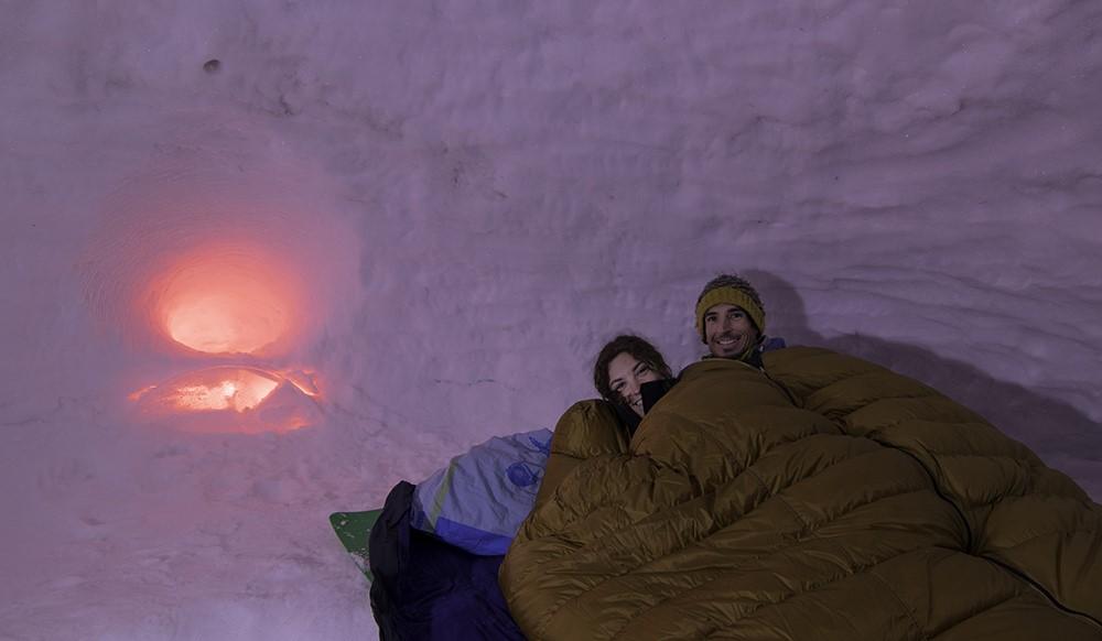 Une nuit insolite dans un igloo pour jouer les explorateurs