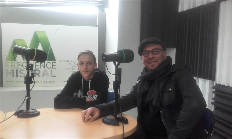 Philémon : vacances à la radio