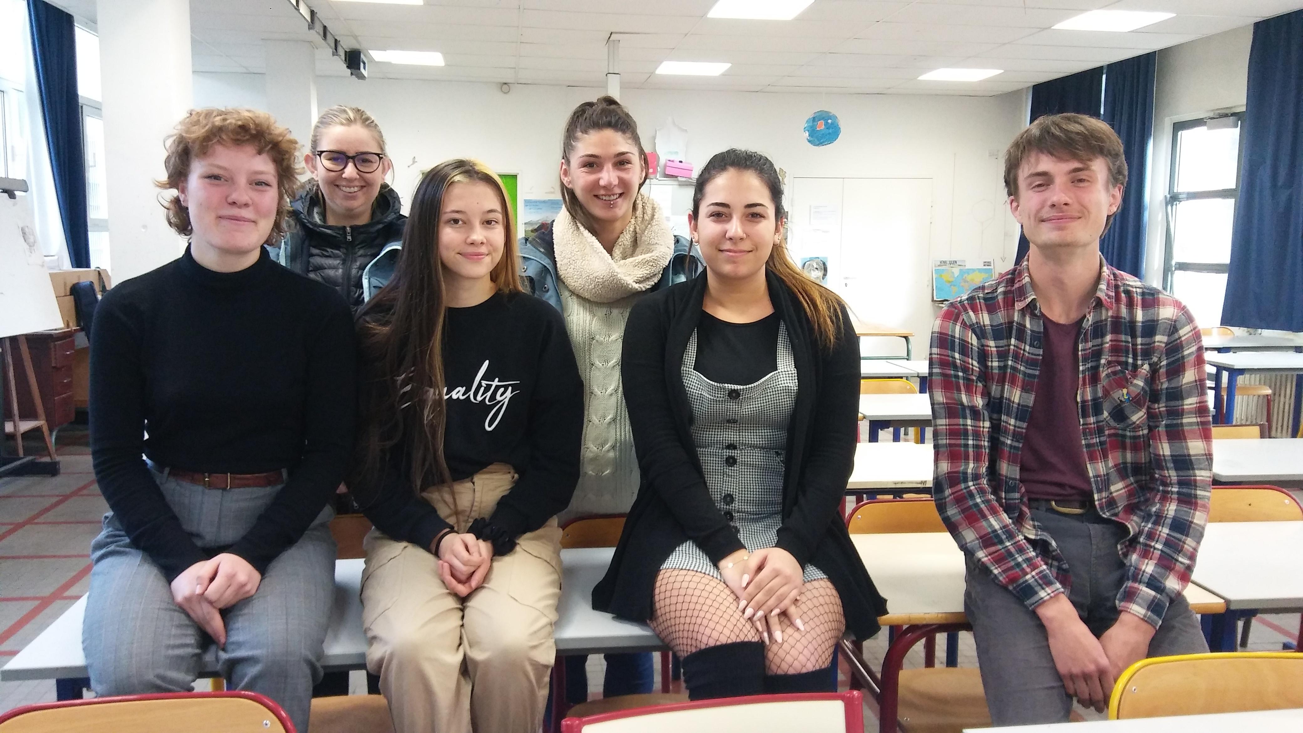 Lycéens mobilisés pour l'environnement
