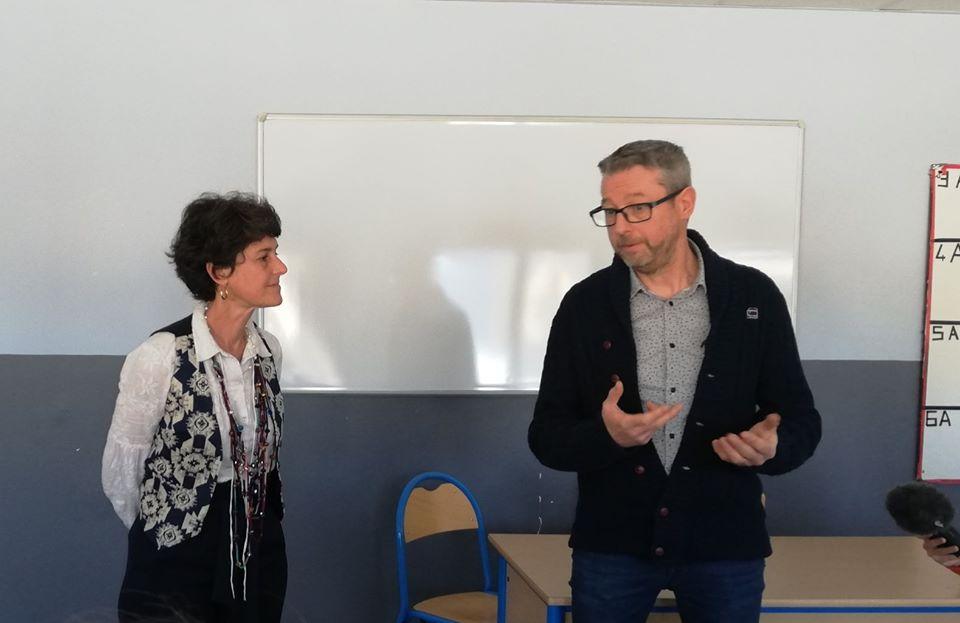 La députée Delphine Bagarry à la rencontre des collégiens de Castellane