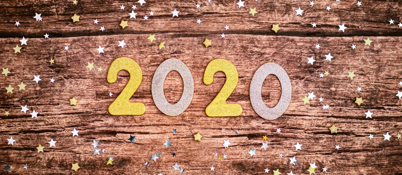 Les années Anniversaire pour 2020 !