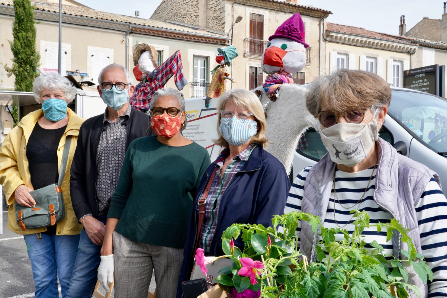Collectif Bien vivre à Banon: Un confinement actif