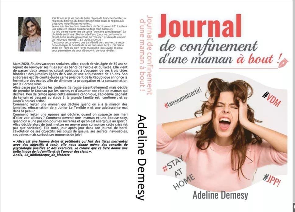 Le journal de confinement d'une maman à bout, un livre d'Adeline Demesy