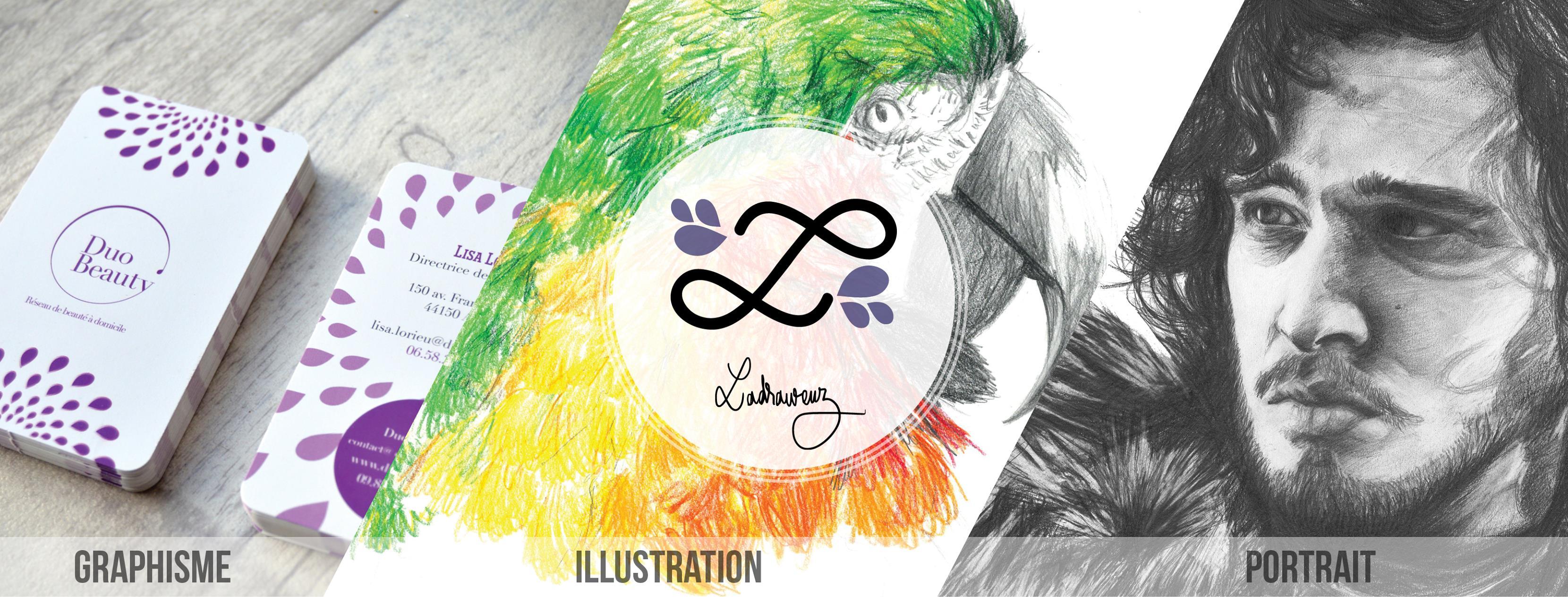 L'art visuel, une passion très forte pour ladraweuz !