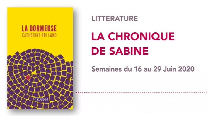 La Chronique de Sabine du 27 Juin 2020