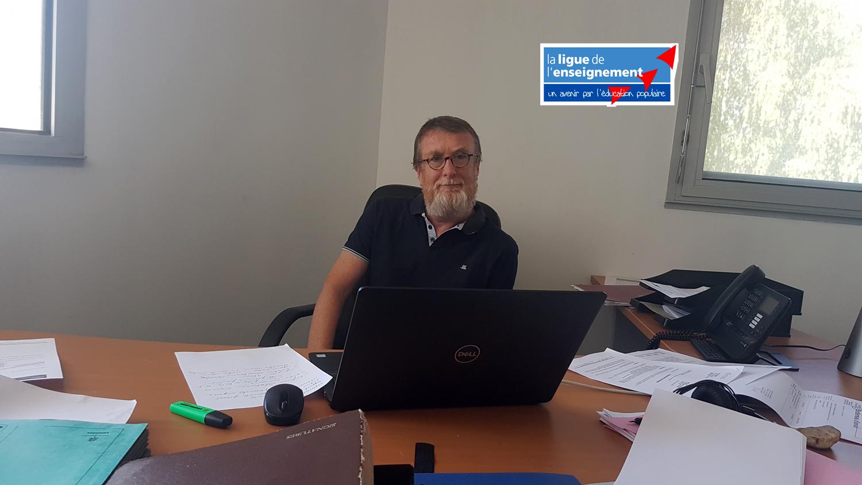 Hugues Guillory Délégué général de la Ligue de l'Enseignement 04 et 05