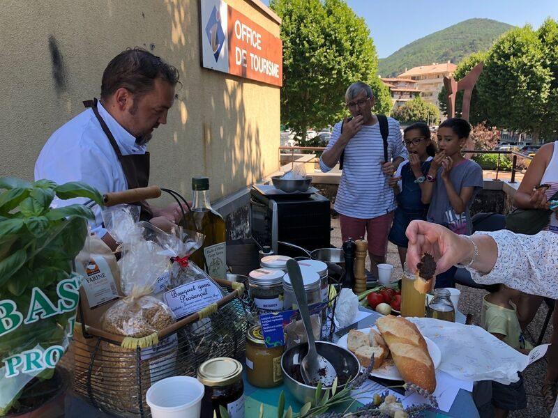 Le chef Cuisinier Frédéric Payan
